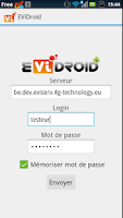 Screenshot of EViDroid