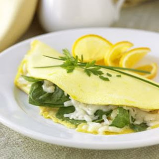 Fresh Spinach Omelette Recipes