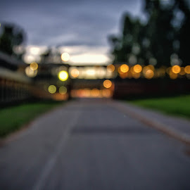 Road by Darius Chua Xian - Landscapes Travel ( oslo, road, sports school, bokeh, norway )