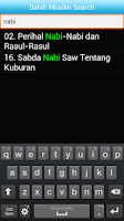Screenshot of 1100 Hadith Terpilih (Malay)