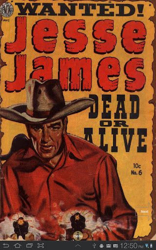 Jesse James Comic Book 6