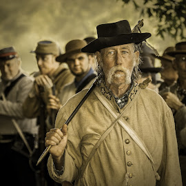 Follow Me by Eric Peterson - News & Events US Events ( soldier, reenactment, vintage, confederate army, civil war, detailed, sword,  )