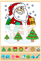 Screenshot of Christmas Coloring