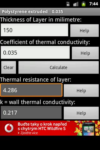 Therm Heat Calculator