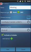 Screenshot of PhoneRobot Auto Call Blocker
