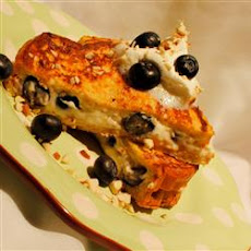 Stuffed Blueberry Toast