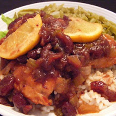 Cranberry Orange Chicken - Crock Pot