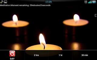 Screenshot of Meditation Moment 默想一刻