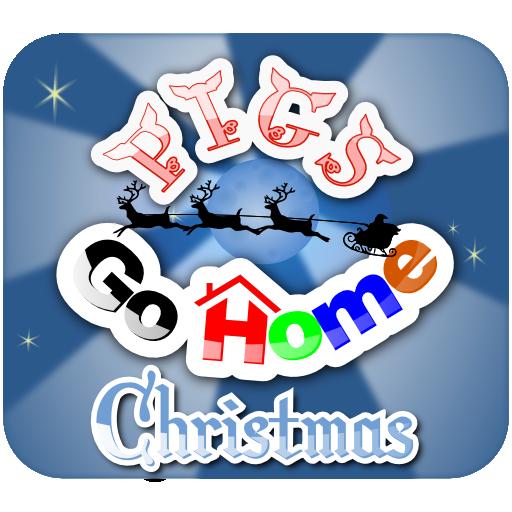 休閒必備App|Pigs Go Home Xmas LOGO-綠色工廠好玩App