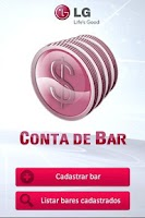 Screenshot of Conta de Bar