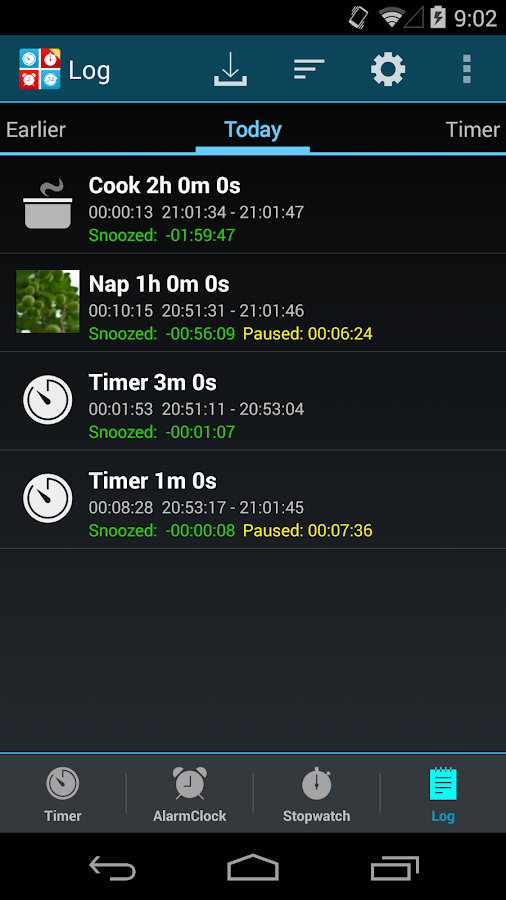Timers4Me Timer&Stopwatch Pro Screenshot 3