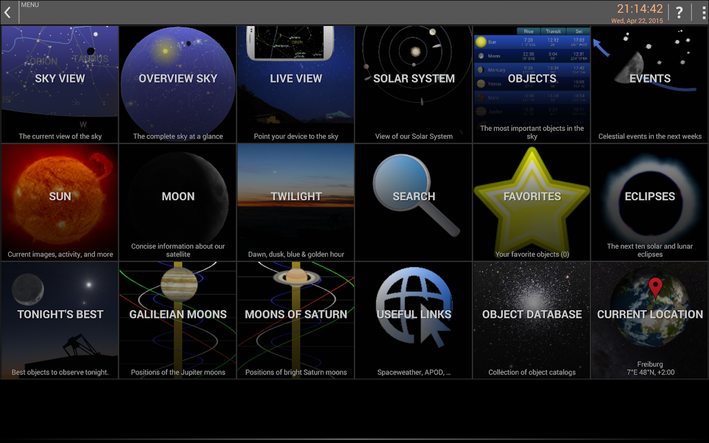Mobile Observatory - Astronomy Screenshot 19