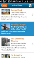 Screenshot of NYC Guide New York Map Weather