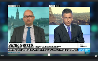 Screenshot of FRANCE 24