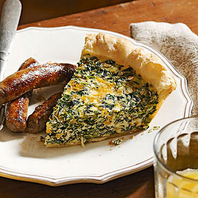 Sara's Mom's Spinach Quiche