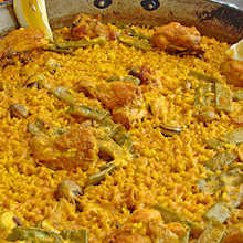 Paella and other rice dishes