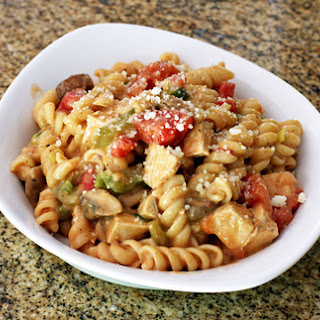 Spicy Cajun Chicken and Pasta