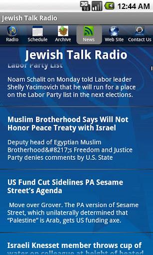 【免費音樂App】Jewish Talk Radio-APP點子