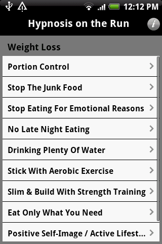 Hypnosis OTR – Weight Loss