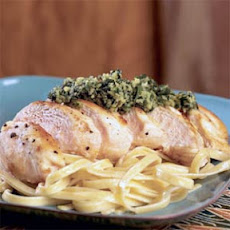 Pan-Seared Chicken with Italian Salsa Verde
