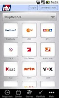Screenshot of rtv-Fernsehguide (Phones)