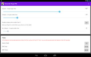 Screenshot of Status Bar Magic