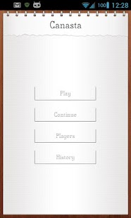 Canasta Score Keeper - screenshot