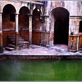 ROMAN BATHS, BATH, UK I by Danie Knipe - Buildings & Architecture Other Exteriors ( dkpgs, bath, architecture, danie knipe, bath house,  )