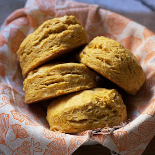 Spiced Pumpkin Buttermilk Biscuits