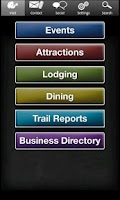 Screenshot of Langlade County Tourism