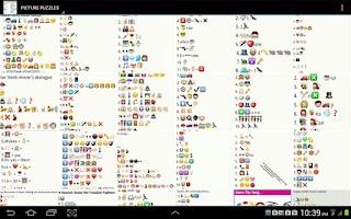 Screenshot of WHATSAPP EMOTICON PUZZLE