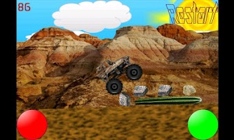 Screenshot of Monster Truck Mayhem (no ads)