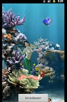 Screenshot of Mermaid Aquarium