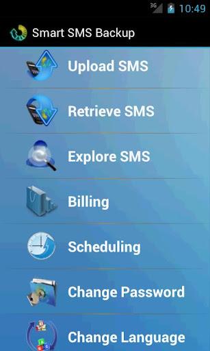 Smart SMS Backup