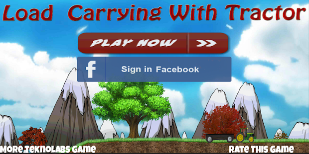Load Carrying With Tractor - screenshot