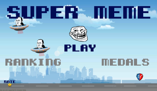 Super Meme Retro World Free - screenshot