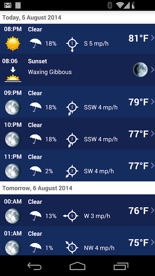 Weather XL PRO Screenshot 4