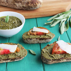 Sage and Toasted Walnut Pesto
