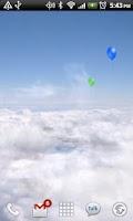 Screenshot of Blue Skies Live Wallpaper