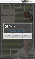 Screenshot of Fatto di Pelle! 200+ Suonerie!