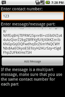 Screenshot of Cloak SMS Free