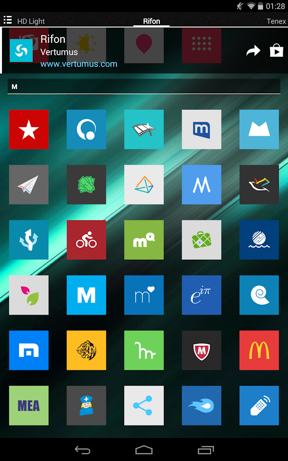 Rifon - Icon Pack Screenshot 15
