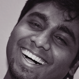 Laugh Out Load !! by Dinesh Chitlangia - People Portraits of Men ( lol, loud, laugh, happy, smile,  )