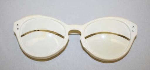 Gafas raras Moda diferente de Andrè Courrèges