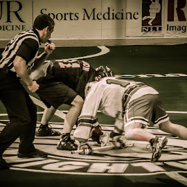 Rochester Vs Vancouver by Enrique Santana Carballo - Sports & Fitness Lacrosse ( ref, sports, vancouver, lacrosse, rochester )