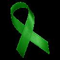 Green Awareness Ribbon Clock icon