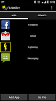 Screenshot of Flashlight Notifier