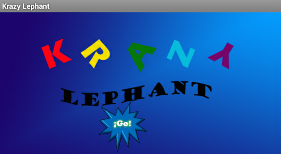 Krazy Lephant - screenshot