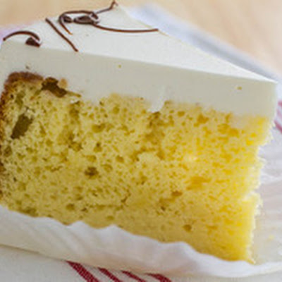 Tender Citrus Sour Cream Cake