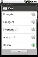 Screenshot of Euro Dictionary